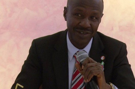 EFCC boss, Magu spotted in Presidential Villa