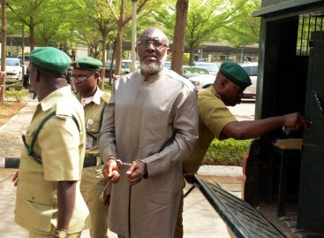 PDP govs protest Metuh's cuffing