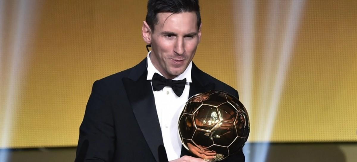 Messi clinches 5th Ballon d'Or award