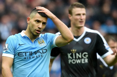 Manchester City 1-3 Leicester City: Huth double sees Foxes move six points clear