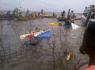 Another Bristow helicopter crashes into Lagos lagoon