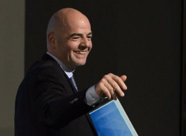 Infantino wins FIFA Presidential election
