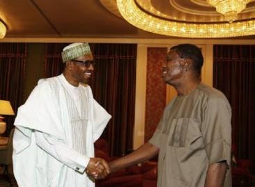 Buhari, Adeboye in closed-door meeting