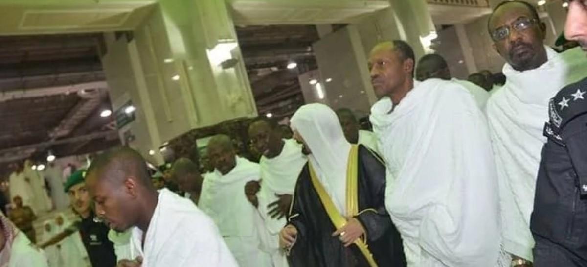 Buhari performs lesser hajj