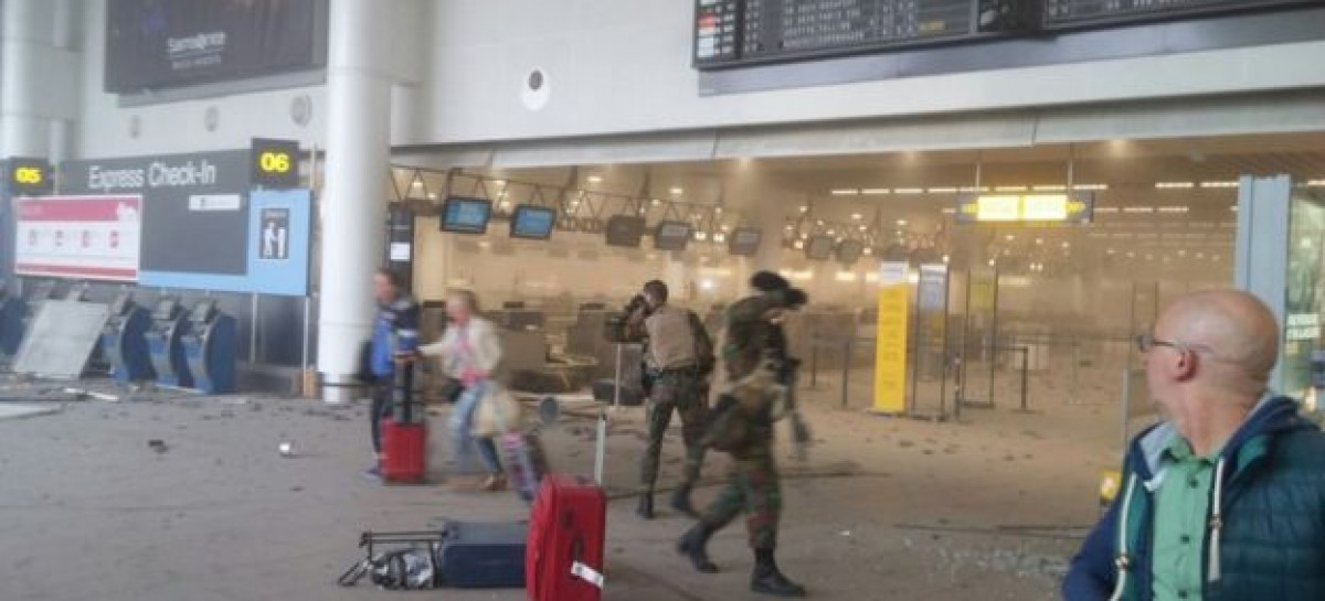 Brussels attacks: At least 31 dead at Zaventem and Maelbeek