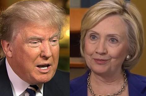 Trump can't rule America – Clinton