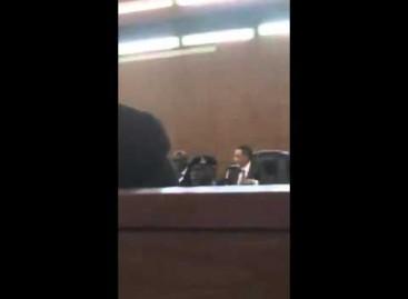 VIDEO: How Justice Umar Sends Saraki's Lawyer Out of Tribunal