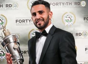 Riyad Mahrez: Leicester City forward named PFA Player of the Year