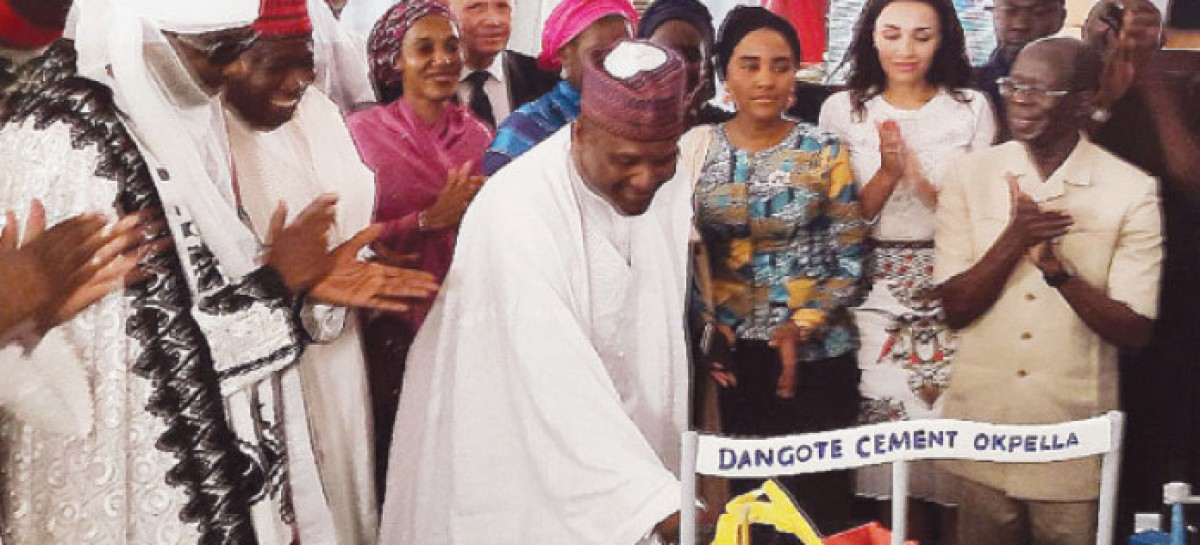 Dangote celebrates 59th birthday with $1bn Okpella cement plant