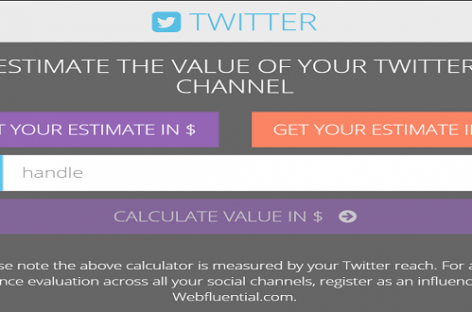 New Calculator Shows How Much You Can Earn Per Tweet