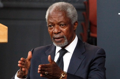 Leave when your time is up, Kofi Annan tells African leaders