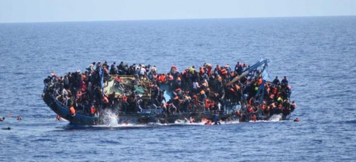 European Migrant Crisis: Capsized Boat Horror Caught On Camera