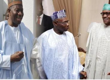 Niger Delta Avengers: Buhari meets Obasanjo, Jonathan