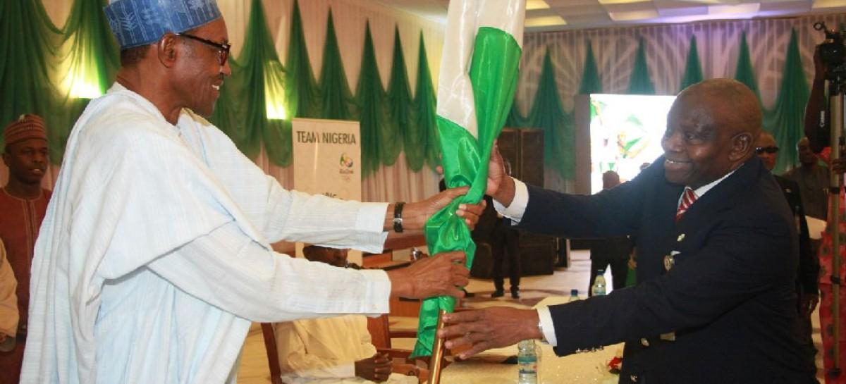 Rio Olympics: Buhari sends motivational message to Team Nigeria