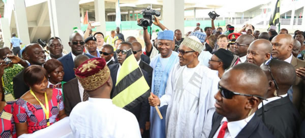 Buhari commissions Abuja-Kaduna train services
