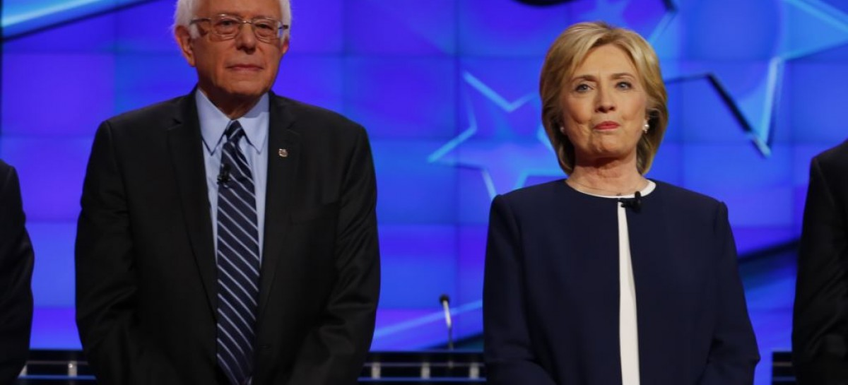 Sanders urges supporters to vote Clinton, says Trump a 'demagogue'