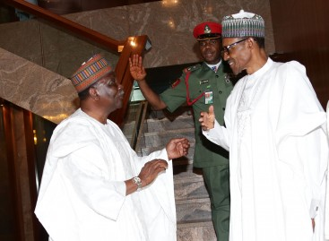 Buhari commiserates with Gowon on sister's death