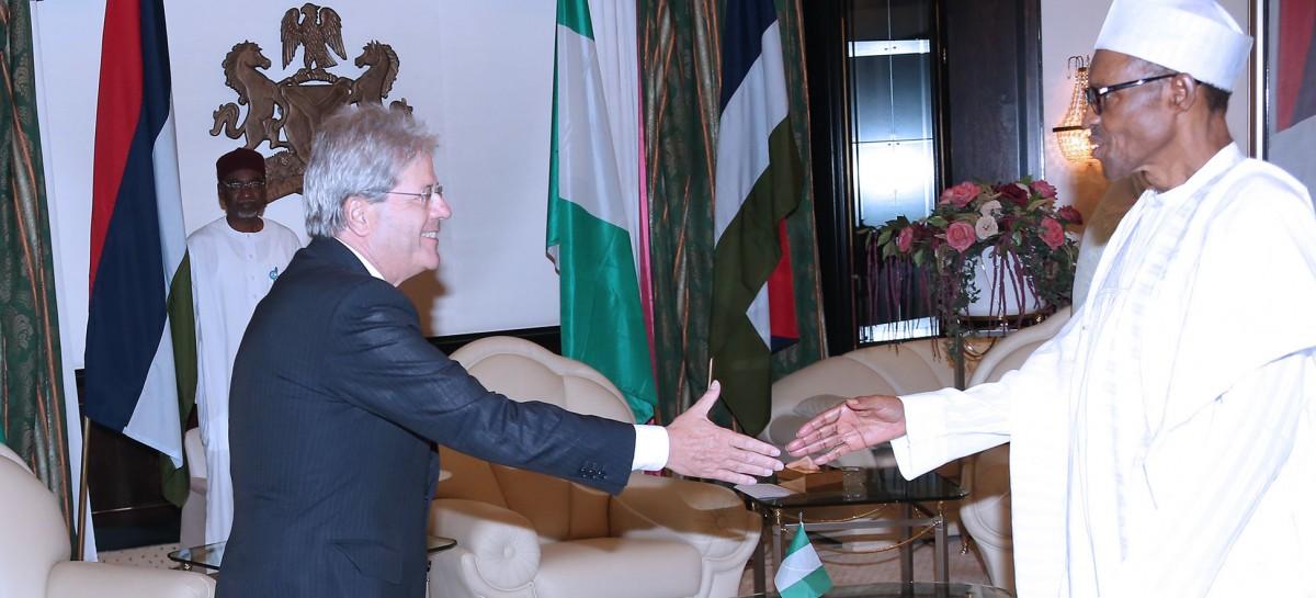 Buhari wants stronger economic ties with Italy