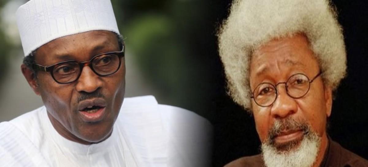 Buhari, Soyinka meet in Aso Rock