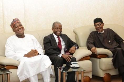 Buhari, Dogara meet at State House