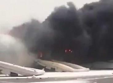 282 passengers escape death as Emirates aircraft crash-lands in Dubai