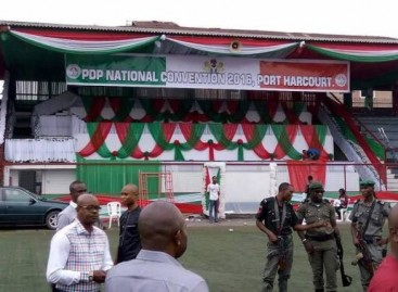 Police seal-off PDP convention venue