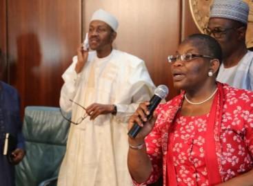 President Buhari, Mallam Garba Shehu and I