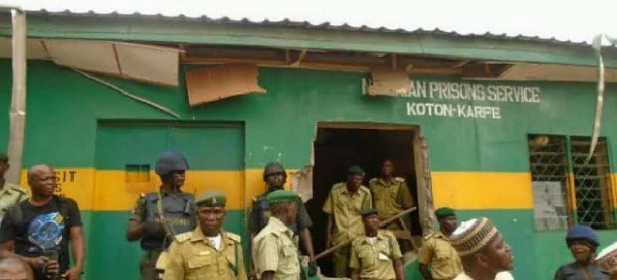 Five escapee prisoners in Koton Karfe prison recaptured