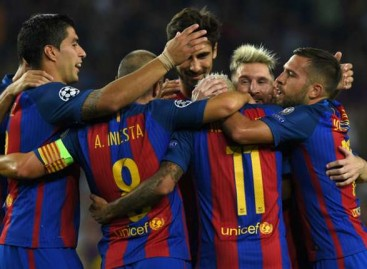Champions League results 13/09/2016