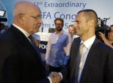 Aleksander Ceferin: New president says Uefa must show leadership