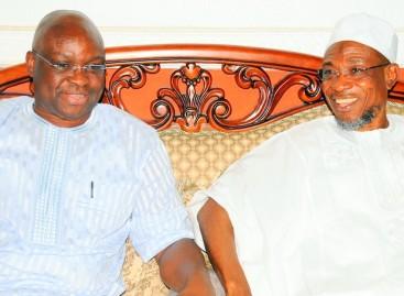 Ekiti, Osun APC clash over Aregbesola's visit to Fayose