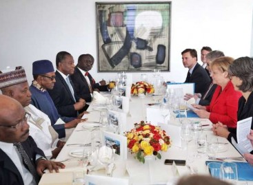 Nigeria set to launch Development Bank, as Buhari seeks increase in trade between Nigeria, Germany