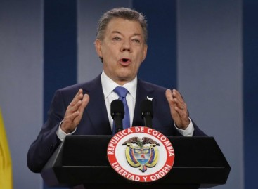 Columbian leader, Juan Santos, wins 2016 Nobel Peace Prize