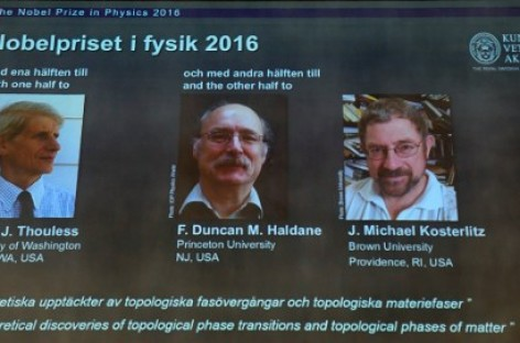 Trio win Nobel Physics Prize for exotic matter research