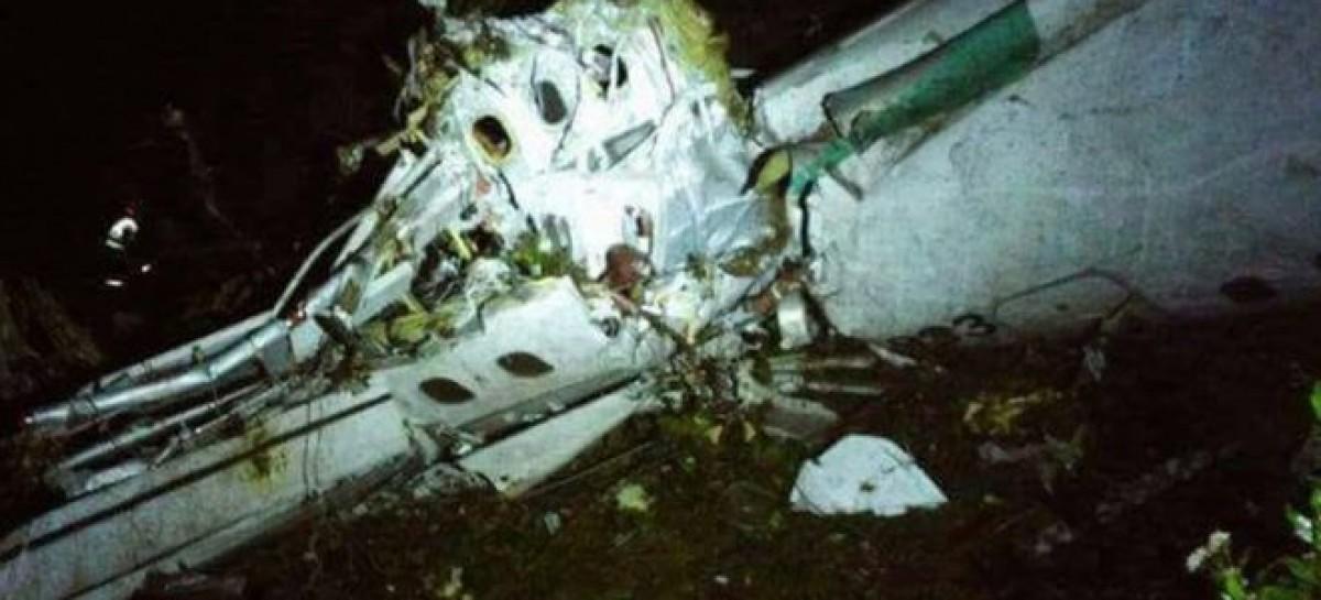 Brazil Chapecoense football team in Colombia plane crash