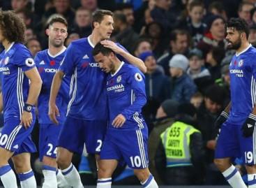 Chelsea thrash Everton 5-0