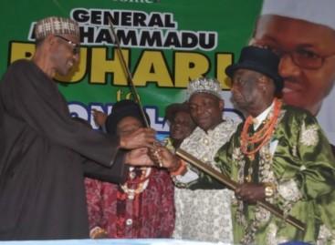 Buhari salutes Enyi of Aba, Eze Ikonne, at 88