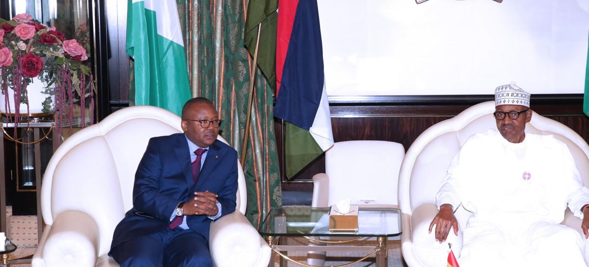 Nigeria won't let down Guinea Bissau – Buhari