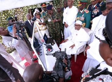 Buhari, Osinbajo, others honour fallen heroes