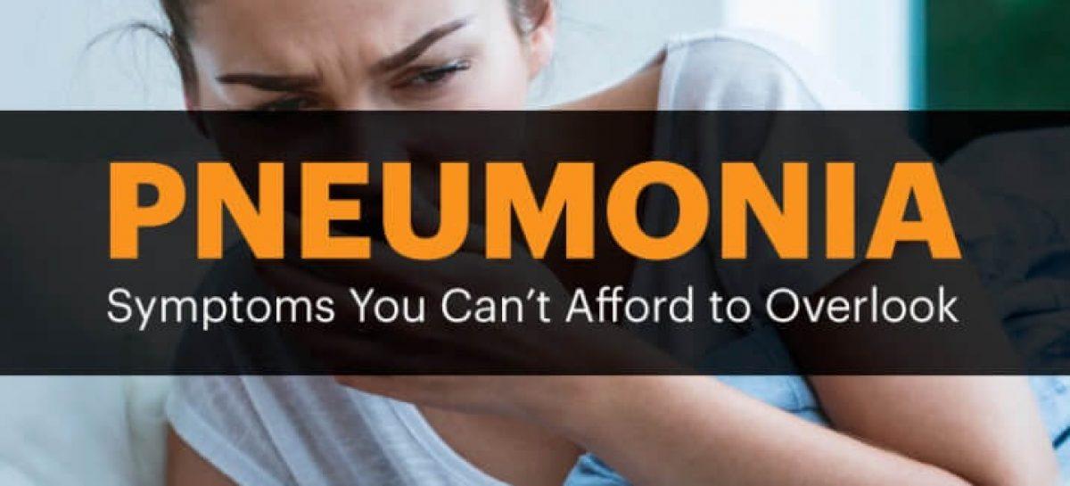 Pneumonia symptoms, risk factors & natural treatments