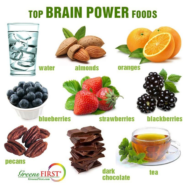 Foods To Eat To Increase Focus