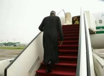 Buhari goes to London for treatment