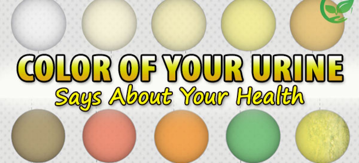 What The Urine Color Says About Your Health