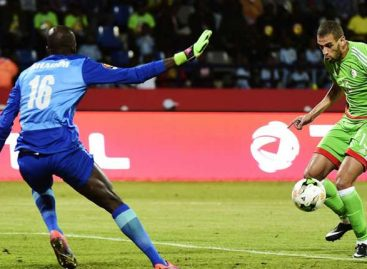 AFCON 2017 results for Monday