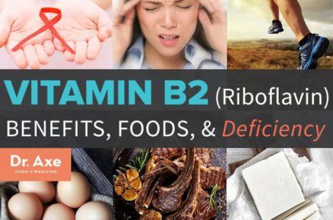 Vitamin B2/Riboflavin: Benefits, sources & deficiency