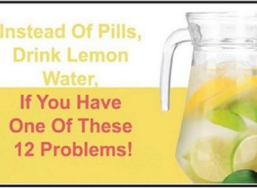 Have lemon water instead of medicines and resolve these 12 health problems