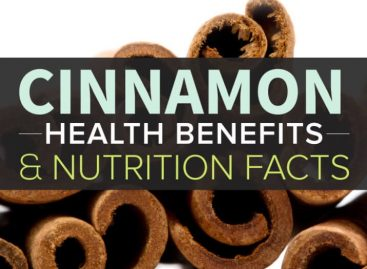 Health benefits of cinnamon & nutritional facts
