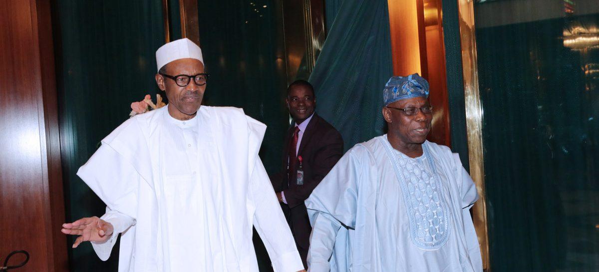 Buhari eulogizes Obasanjo at 80