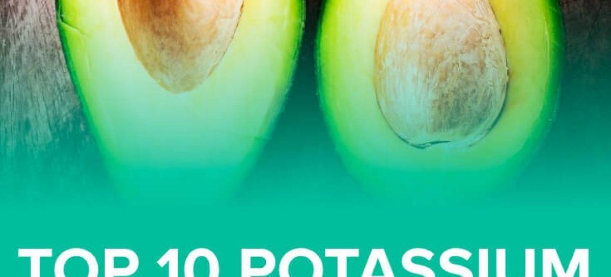 Top 10 potassium rich foods