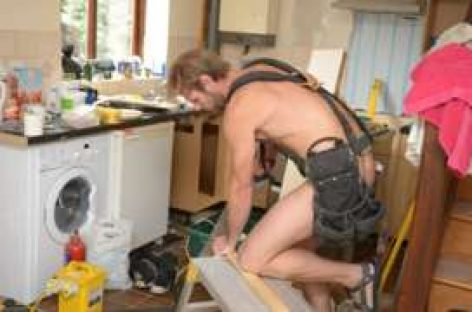 Naked gardener charged for 13 public order  offences